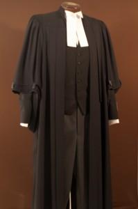 Judicial robes wool